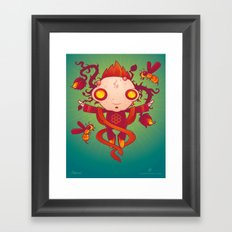 HIVES Framed Art Print