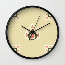 Lai Thai Kra Jang Flat Art Wall Clock