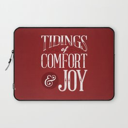 Tidings of Comfort & Joy Laptop Sleeve