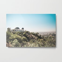 Observatory Views Metal Print