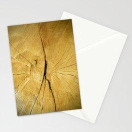 Oak Wood Stationery Cards