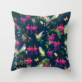 The Honey Eaters Throw Pillow