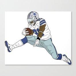 Zeke Leap Canvas Print