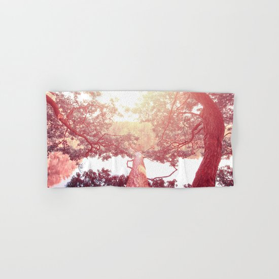 Red woods #trees Hand & Bath Towel