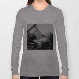 Chola Bad Ass Bitch Smokes Long Sleeve T-shirt