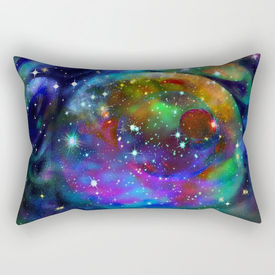 Another Solar System Rectangular Pillow