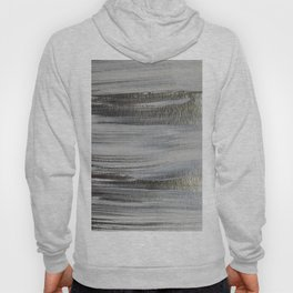 Metallic Abstract Painting 5 #texture #minimalism Hoody