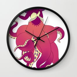 Octomaid Wall Clock