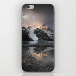 Sunrise in the mountains iPhone Skin