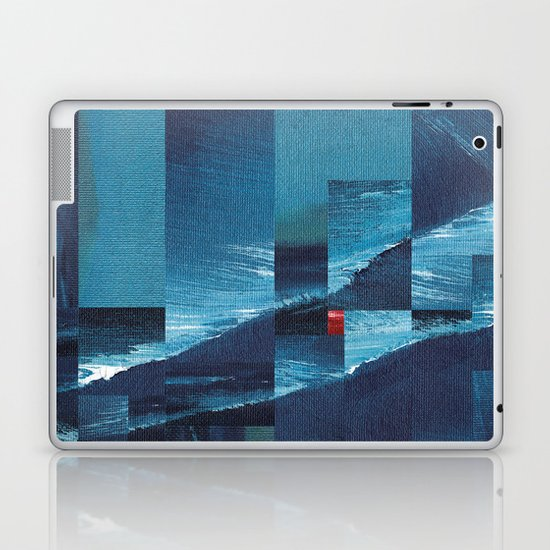 Cracking Waves (Distant Shore) Laptop & iPad Skin