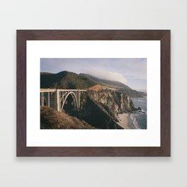 That Big Sur Bridge Framed Art Print
