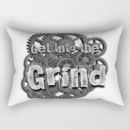 Into the Grind Rectangular Pillow