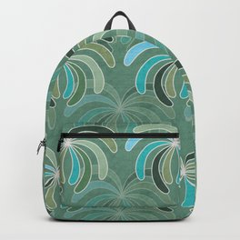 Abstract Design Of  Palm Trees Backpack