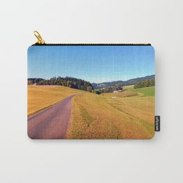 Country road with scenery | landscape photography Carry-All Pouch