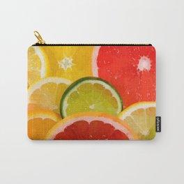 Simply Citrus, Orange Lemon and Mandarin Carry-All Pouch