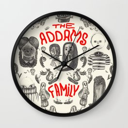 The Addams Family Wall Clock