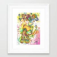 surrealism Framed Art Prints featuring surrealism by NastyaWait