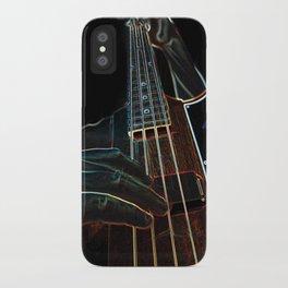 Bass-ics iPhone Case