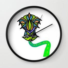 Monster Snake Robot Wall Clock