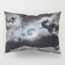 Blue Moon I Wonder Pillow Sham