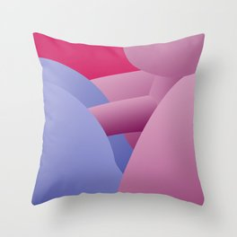 Penetration Throw Pillow