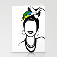 brasil Stationery Cards featuring Brasil by andiroses