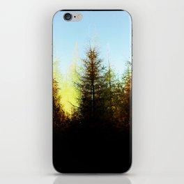 Symmetrical Fir iPhone Skin