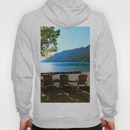 Adirondack Chairs at Lake Cresent Hoody