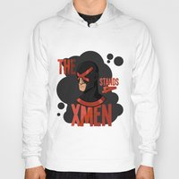 xmen Hoodies featuring The X stands 4 XMEN by JakbTIME