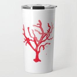 Red Coral II Travel Mug