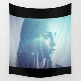 Anger At The Stars Wall Tapestry