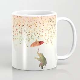 Dancing with Musical Rain Coffee Mug