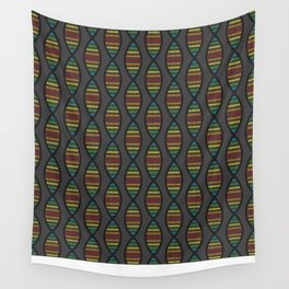 Rainbow DNA Wall Tapestry