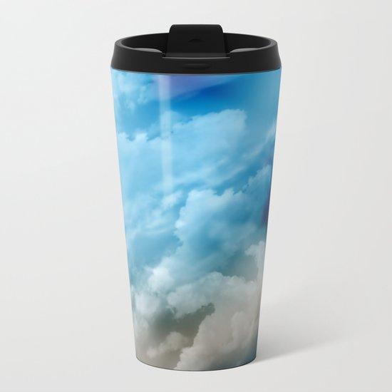 Clouds 2 Metal Travel Mug