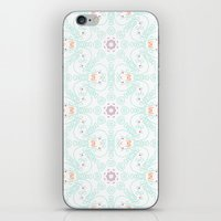 doodle iPhone & iPod Skins featuring Doodle by Truly Juel