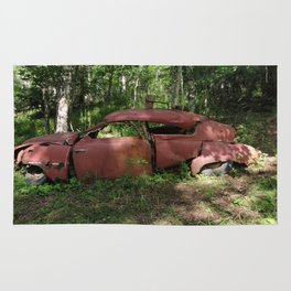 Saab 92 rusty Rug