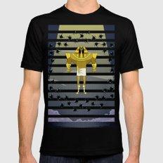 Osiris versus Set Black Mens Fitted Tee MEDIUM