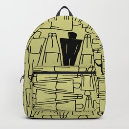 UNIQUENESS in Yellow Backpack