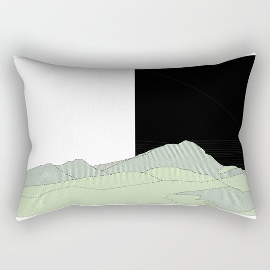 NATURE basque country Rectangular Pillow