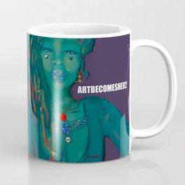 Order And Chaos - Jade Coffee Mug