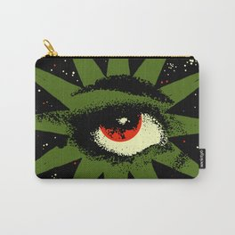Red and Green All Seeing Cosmic Eye Carry-All Pouch