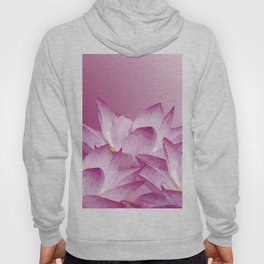 Lotos Flowers Pink Hoody