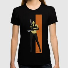 X-23 Womens Fitted Tee Black LARGE