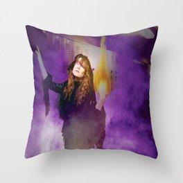 Thee Addiction Sorceress Throw Pillow