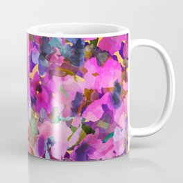 Pink Rainbow Garden Coffee Mug