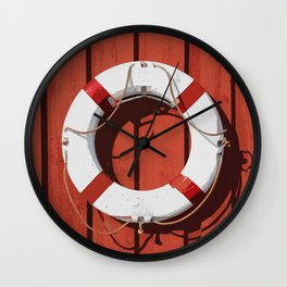 Life saver 2 Wall Clock