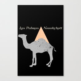 Las Palmas - Nouakchott Canvas Print