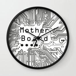 Mother board besign Wall Clock