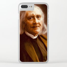 Franz Liszt, Composer Clear iPhone Case