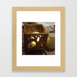Center piece Framed Art Print